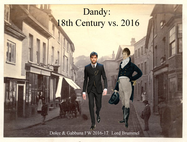 Dandyism in Modernity