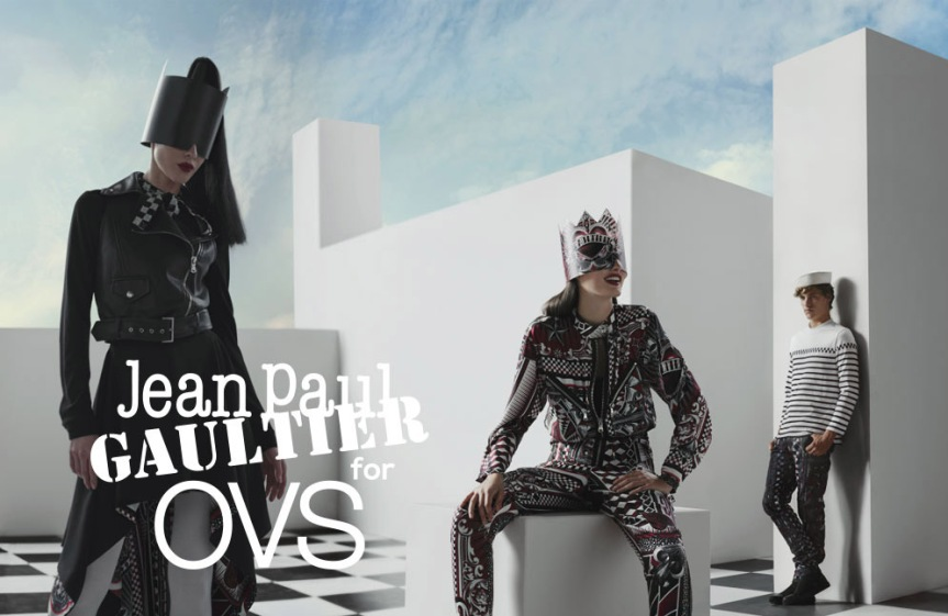 An Epic Card Game: Jean Paul Gaultier X OVS